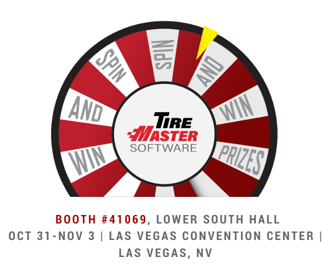 Spin and Win with TireMaster Software at SEMA